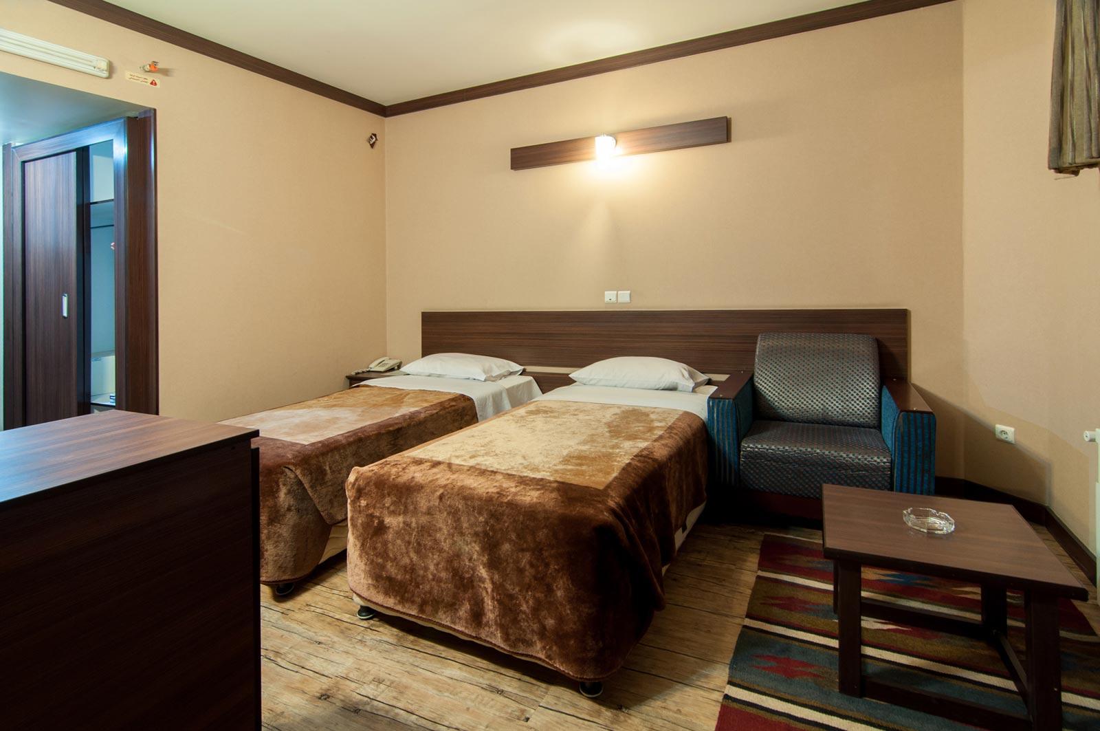 طراحی فضاهای داخلی هتل شیخ بهایی